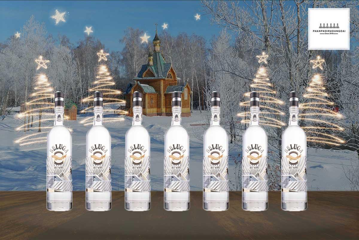 Hình ảnh rượu Vodka Beluga Noble Winter