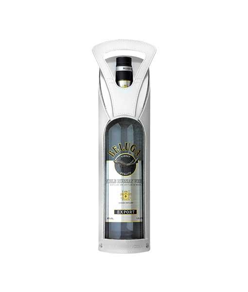Hộp da rượu Vodka Beluga Noble 1 L