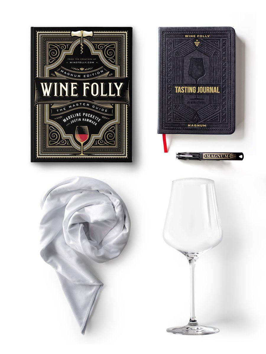 Hộp quà để bạn có thể khám phá thế giới rượu vang