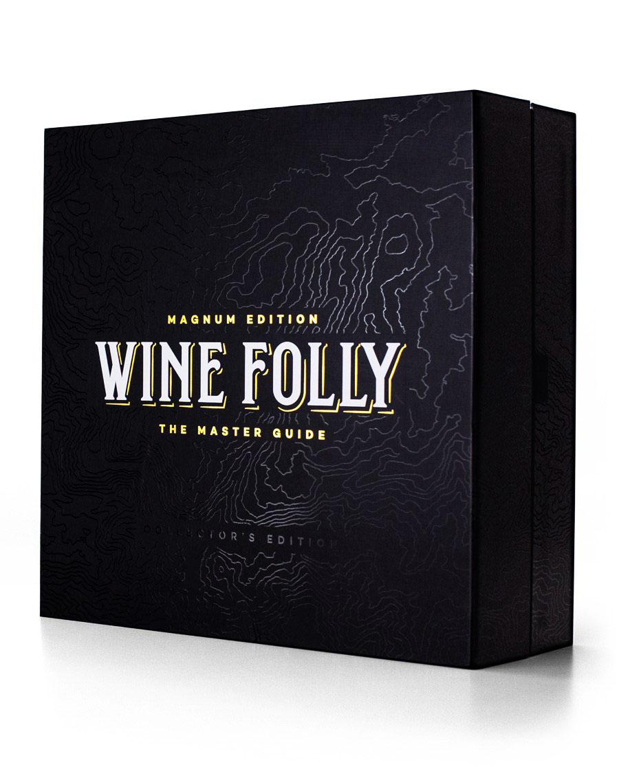 Hộp quà tặng được thiết kế dập nổi sang trọng và lịch lãm - Wine Folly - Madeline