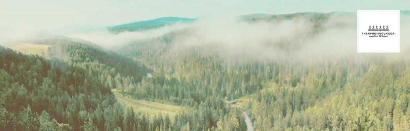 Khung cảnh khu vực Siberia - Nga