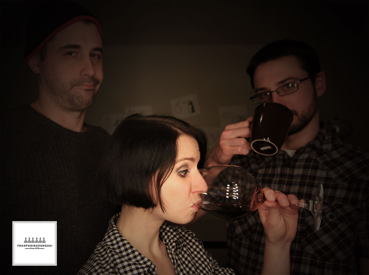 Madeline và đội ngũ của Wine Folly