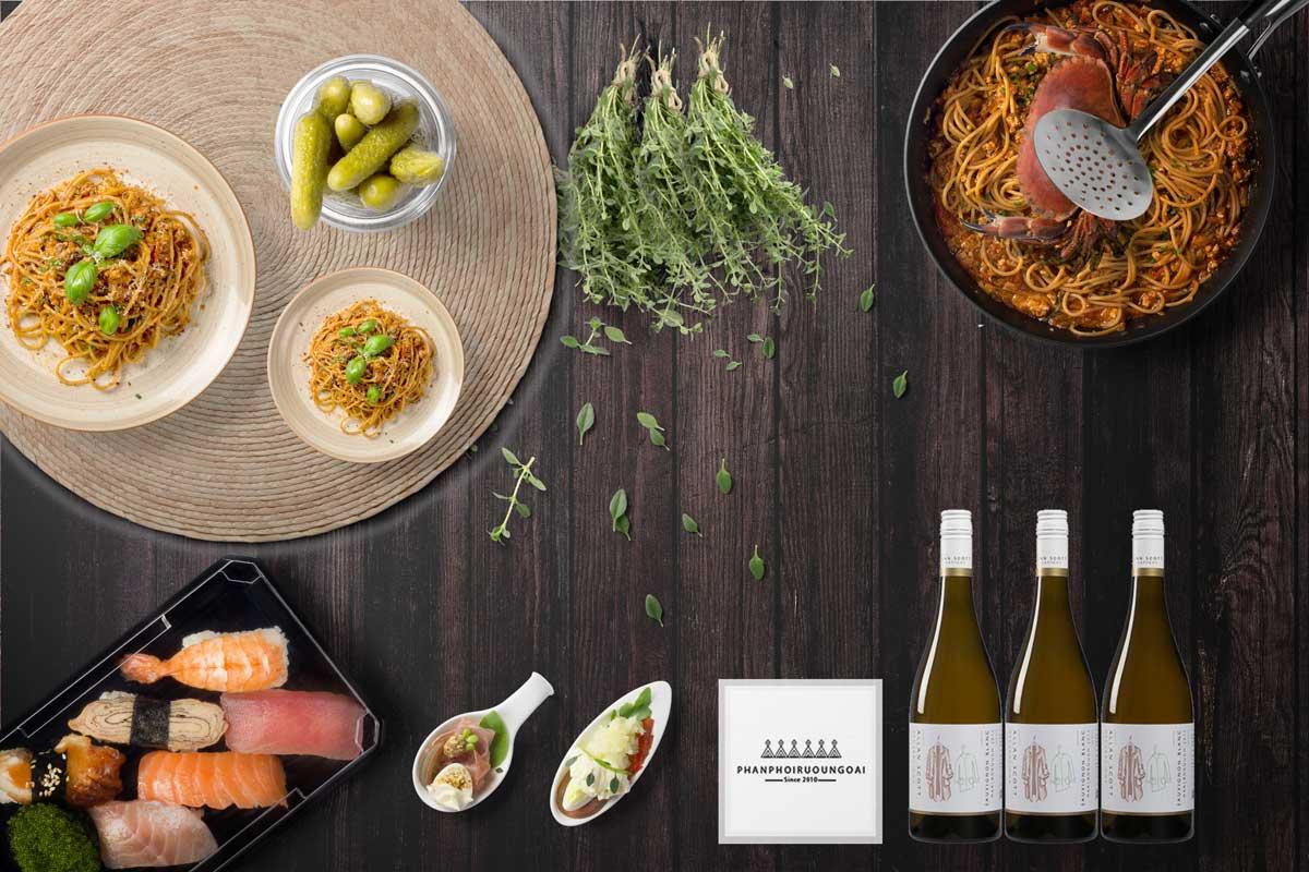 Rượu vang Allan Scott Generations Sauvignon Blanc 2016 và món ăn ngon