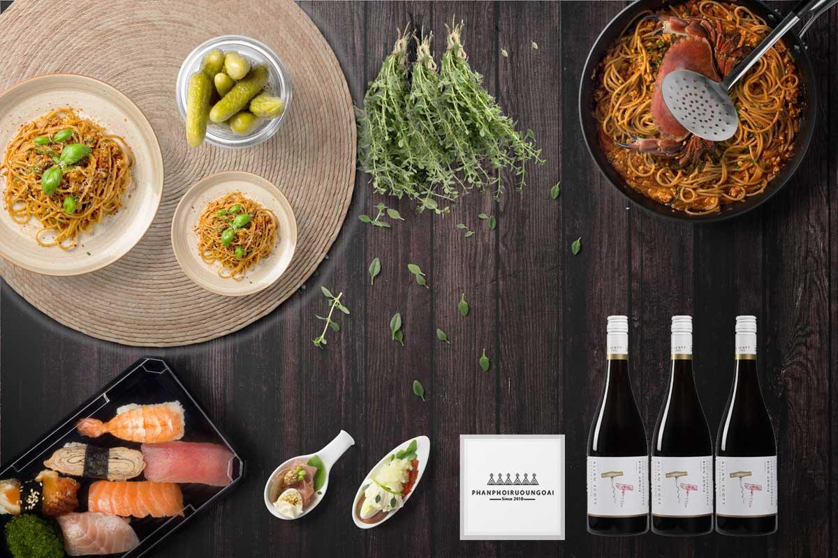 Rượu vang Allan Scott Generation Pinot Noir 2016 và món ăn ngon