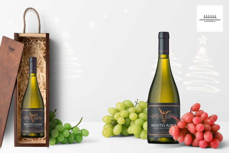 Rượu vang Montes Alpha Special Cuveé Chardonnay 2015