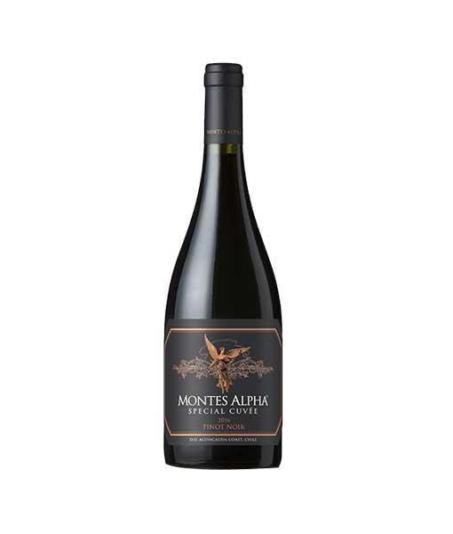 Rượu vang Montes Alpha Special Cuveé Pinot Noir 2016