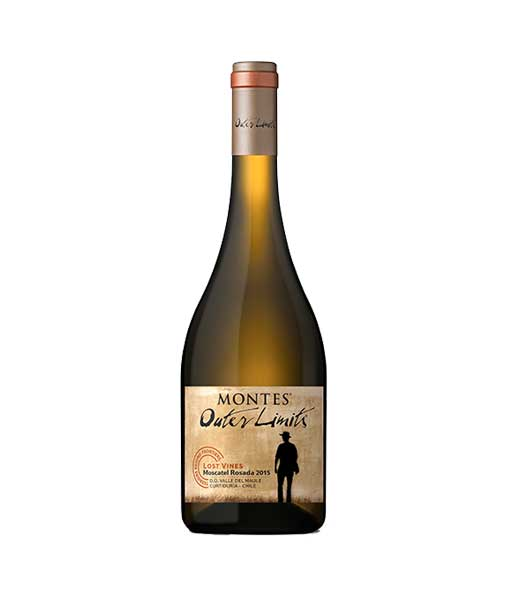 Rượu vang Montes Outer Limits Moscatel Rosada 2015