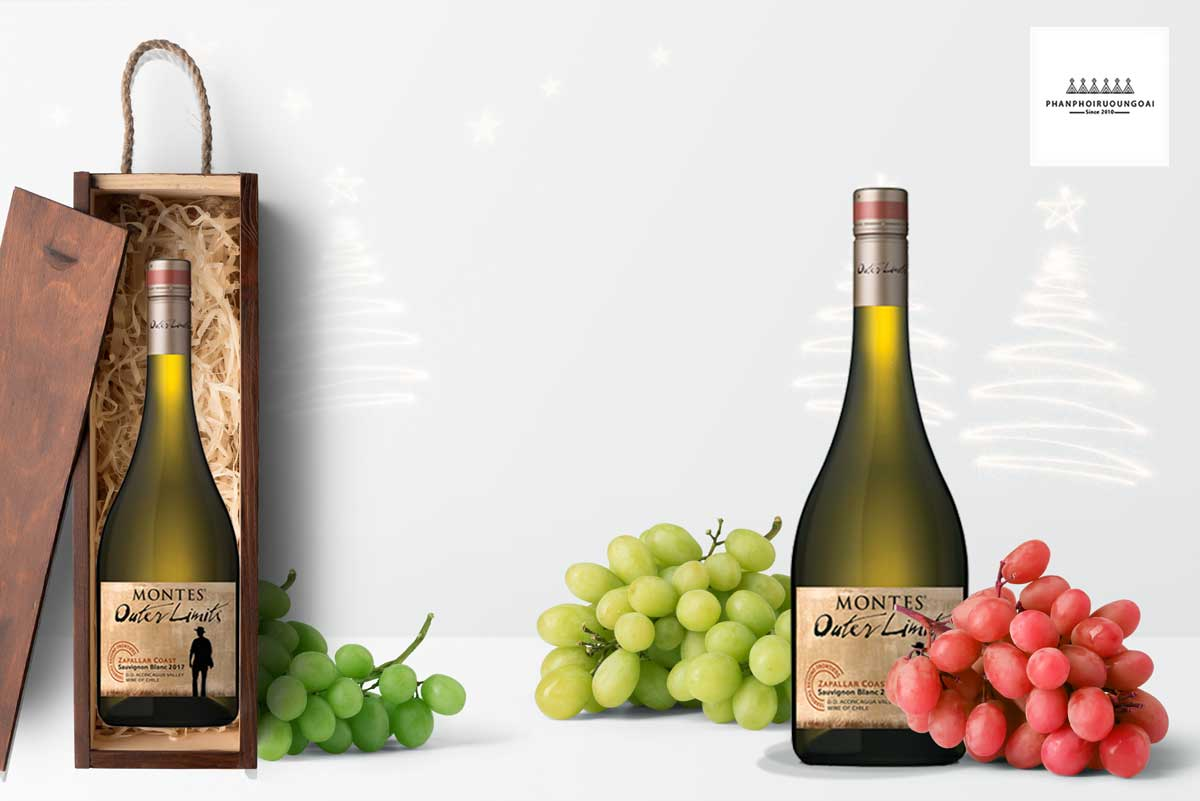 Rượu vang Montes Outer Limited Sauvignon Blanc 2017