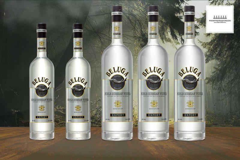 Rượu Vodka Beluga Noble 1 lít và dòng 700 ml