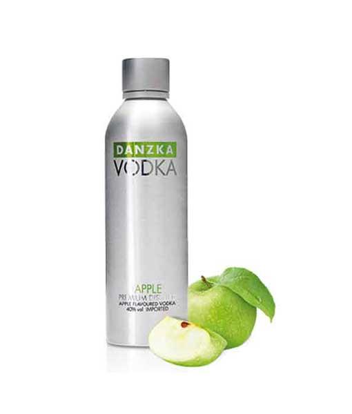 Rượu Vodka Danzka Apple - Táo Xanh
