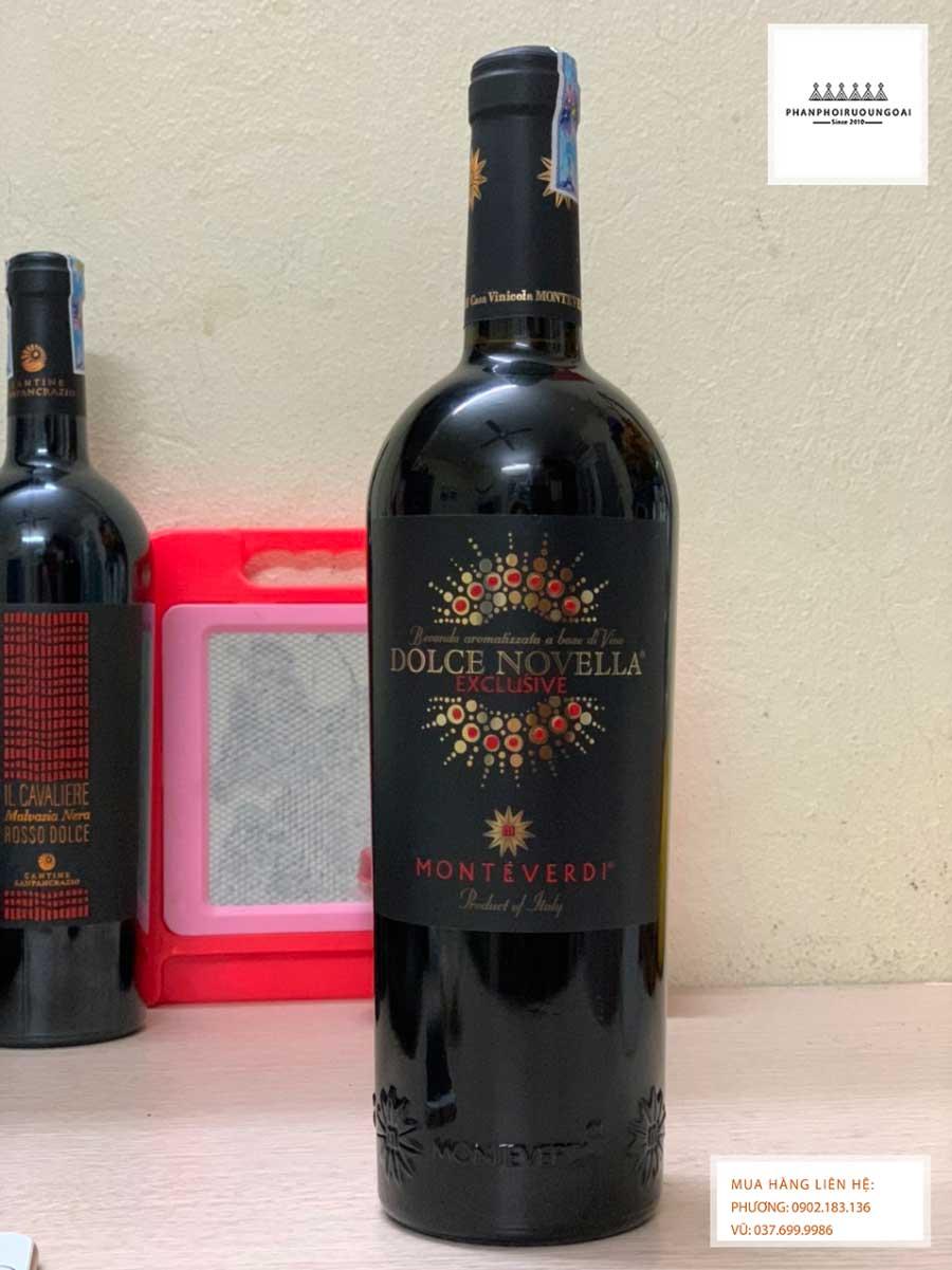 Ảnh Rượu Vang Ý Ngọt Monteverdi Dolce Novella đặc biệt