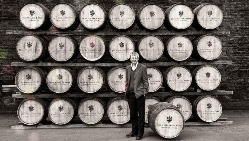 Bậc thầy hầm rượu nhà Johnnie Walker