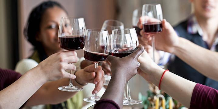 Địa điểm uống rượu vang nhiều nhất ở Mỹ