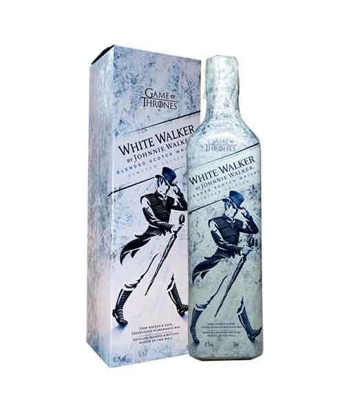 Hộp giấy rượu Johnnie Walker White Walker