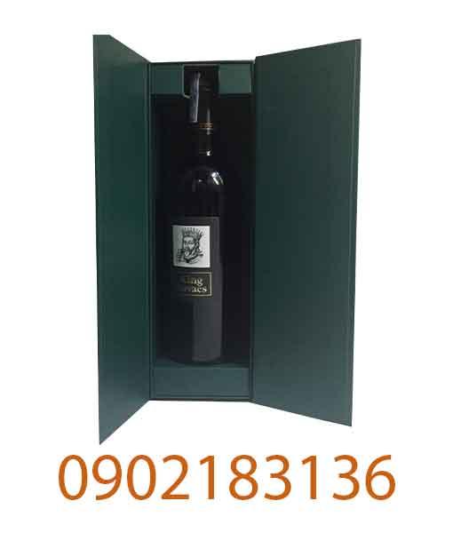Hộp giấy rượu vang Ý ngọt King Ruvaes