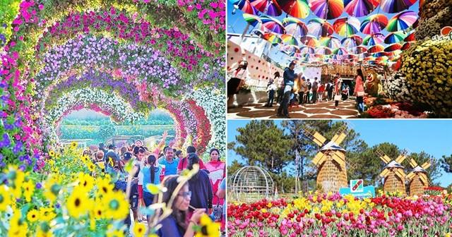 Festival hoa đà lạt 2019