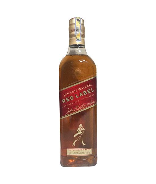 Chai rượu trong hộp quà Johnnie Walker Red Label 2020