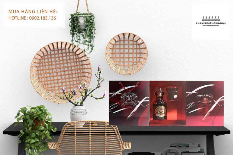 Rượu Chivas 12 năm hộp quà tết 2020 sang trọng và lịch lãm