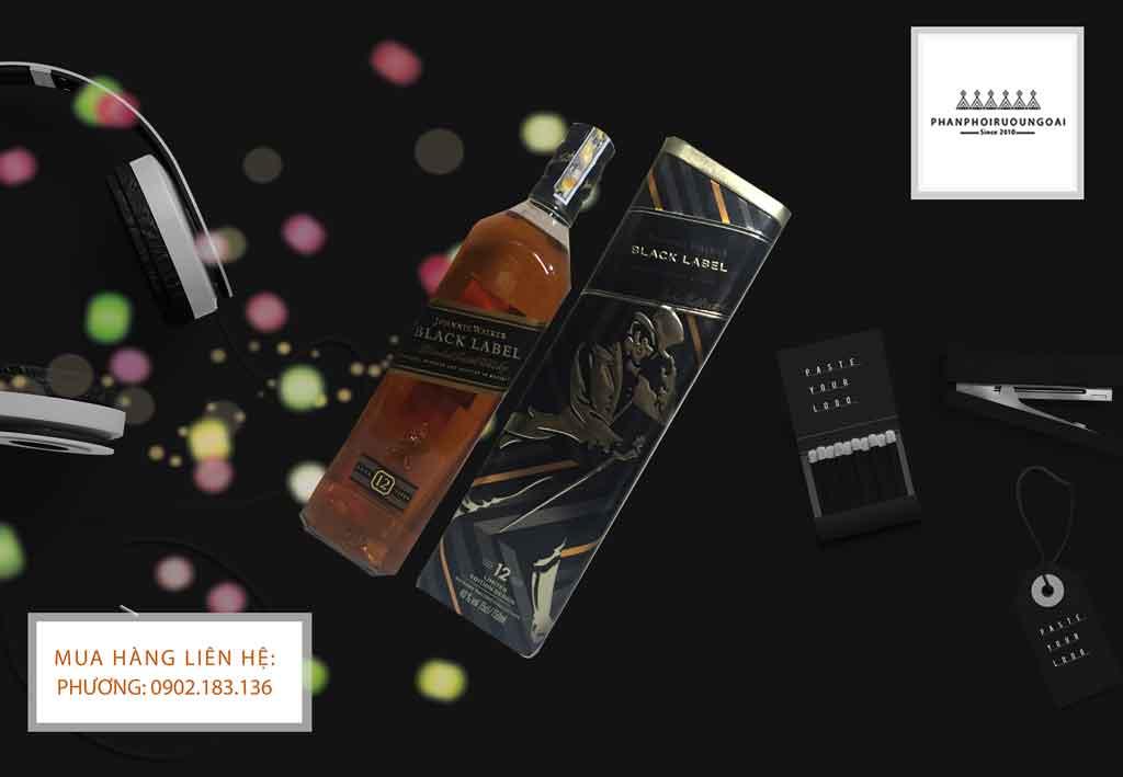 Rượu Johnnie Walker Black Label 2020 sang trọng và lịch lãm