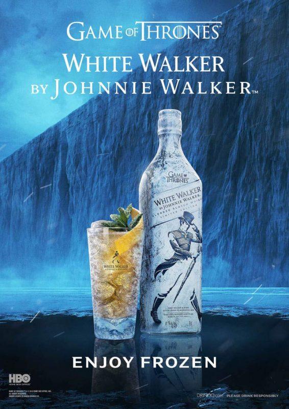 Rượu Johnnie Walker White Walker cũng thích hợp để làm Cocktail