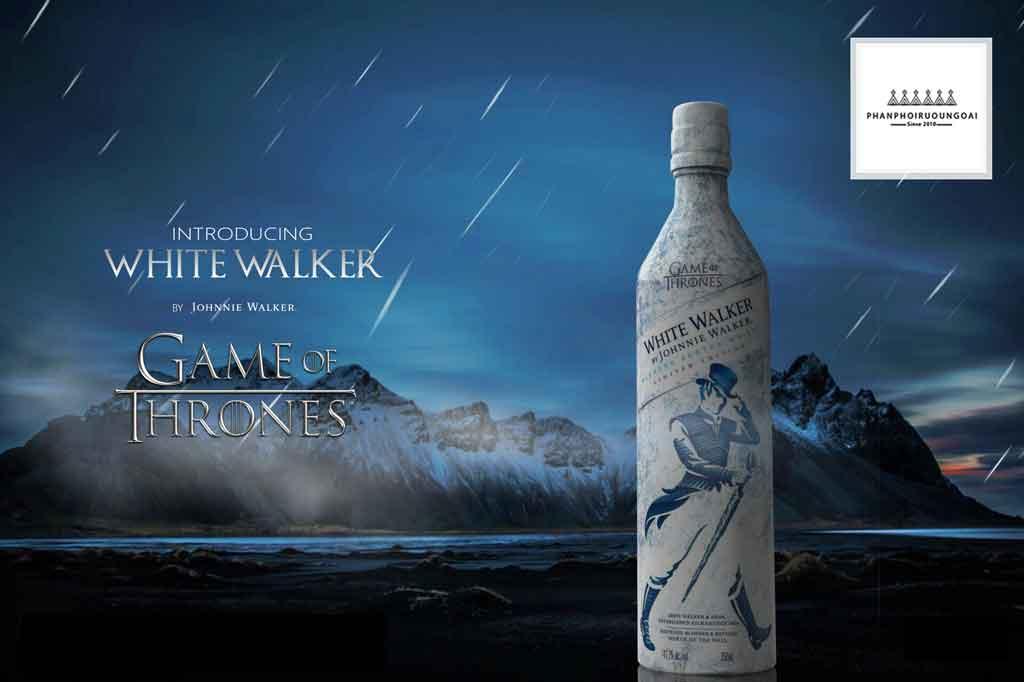 Rượu Johnnnie Walker White Walker cảm hứng từ phim Game of Thrones