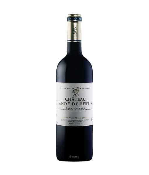 Rượu vang Pháp giá rẻ Chateau Lande de Bertin
