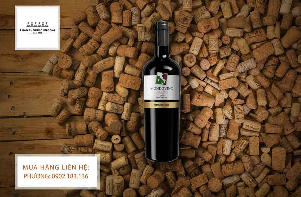 Rượu vang Ý Mondovino chát giá rẻ