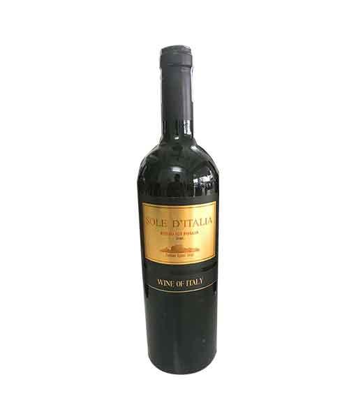 Rượu vang Ý giá rẻ Sole D ' Italia 2020