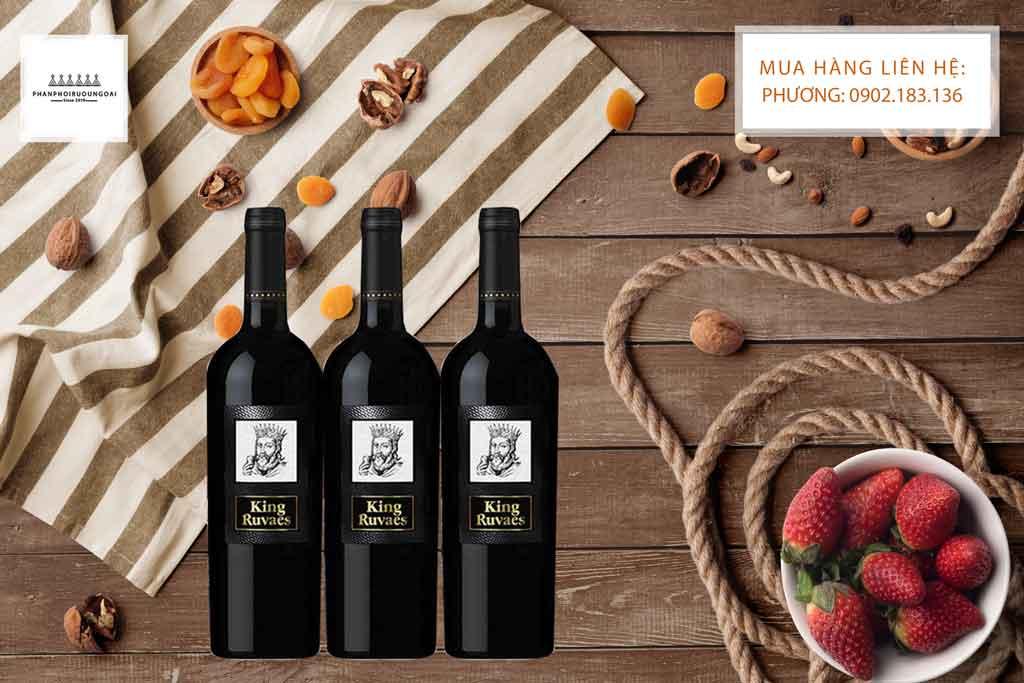 Sự ngọt ngào của hương vị rượu vang Ý King Ruvaes