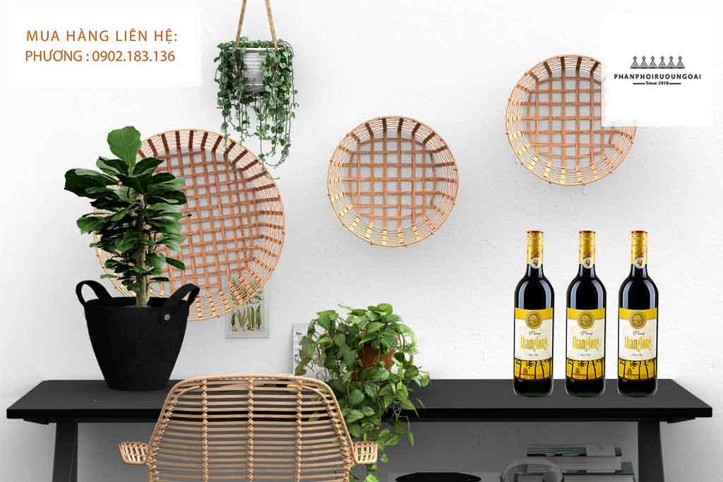 Ảnh chụp Rượu Vang Thăng Long cải tiến cho thị trường