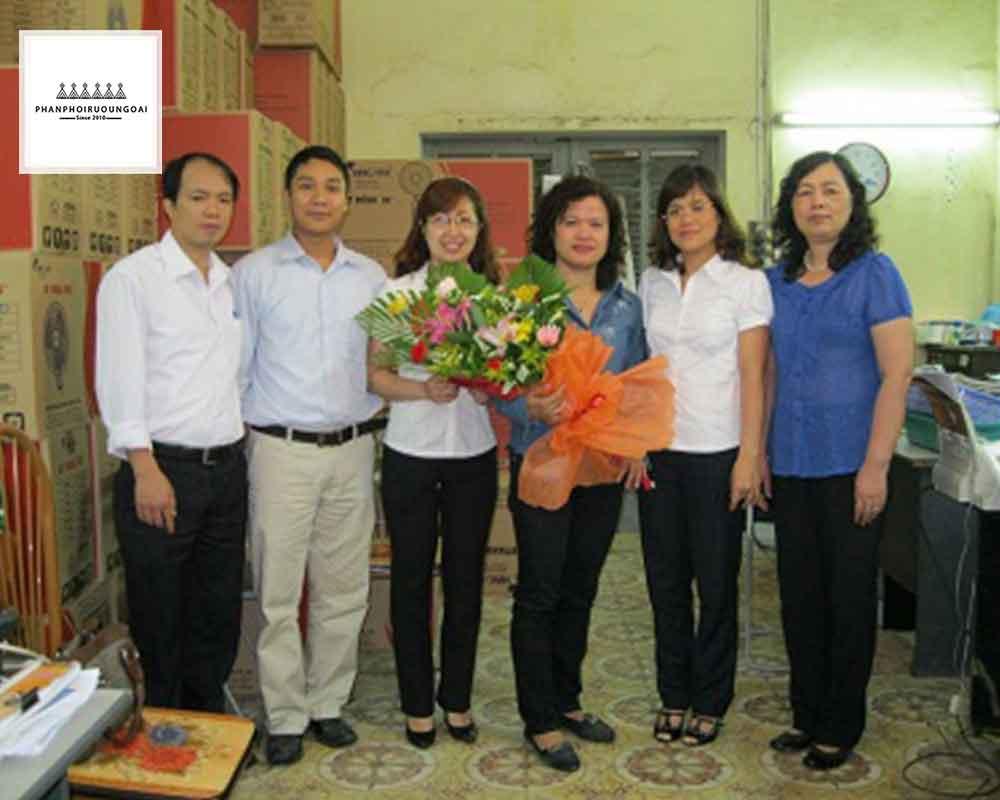 Nhà phân phối đưa rượu vang thăng long đến tay người tiêu dùng Việt Nam