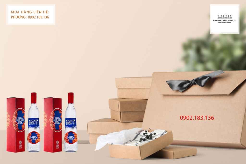 Rượu Vodka Cánh Đồng Nga cho dịp tết 2020