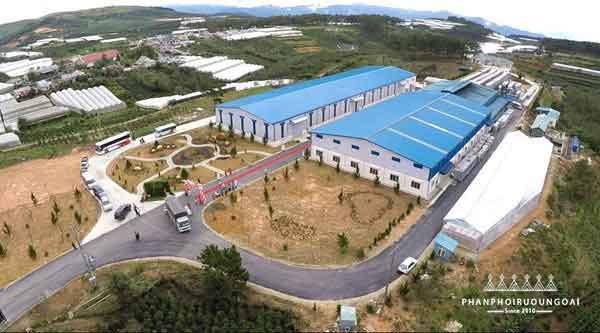 Nhà máy rượu vang đà lạt tại Lâm Đồng