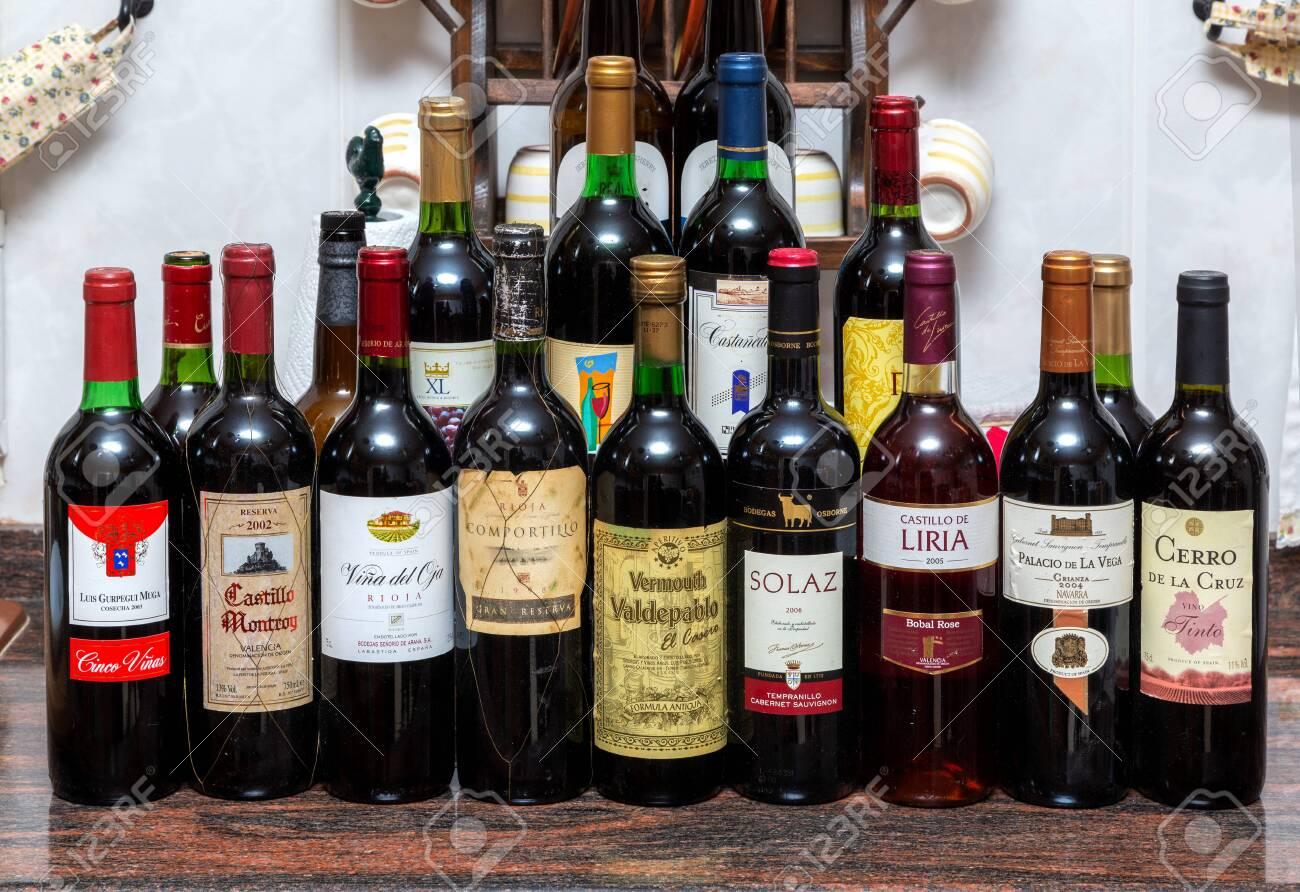 Phân hạng cấp bậc rượu vang tây ban nha