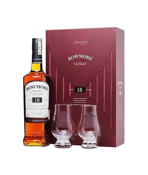 Rượu Bowmore 18 hộp quà tết 2020