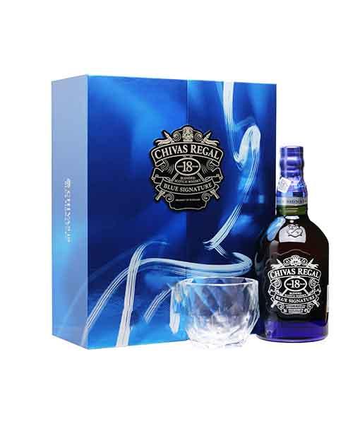 Rượu Chivas 18 Blue Signature hộp quà tết 2020