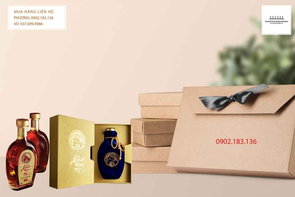 Rượu Hồng Hạc Tửu Đông Trùng Hạ Thảo thích hợp cho biếu tặng