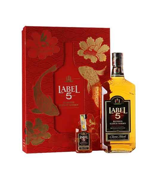 Rượu Label Classic Black hộp quà tết 2020