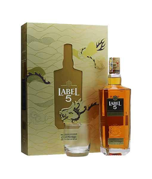 Rượu Label 5 Gold Heritage hộp quà tết 2020
