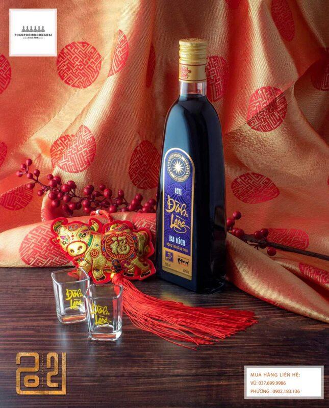 Rượu Ngâm Đình Làng Ba Kích cho tết nguyên đán 2021
