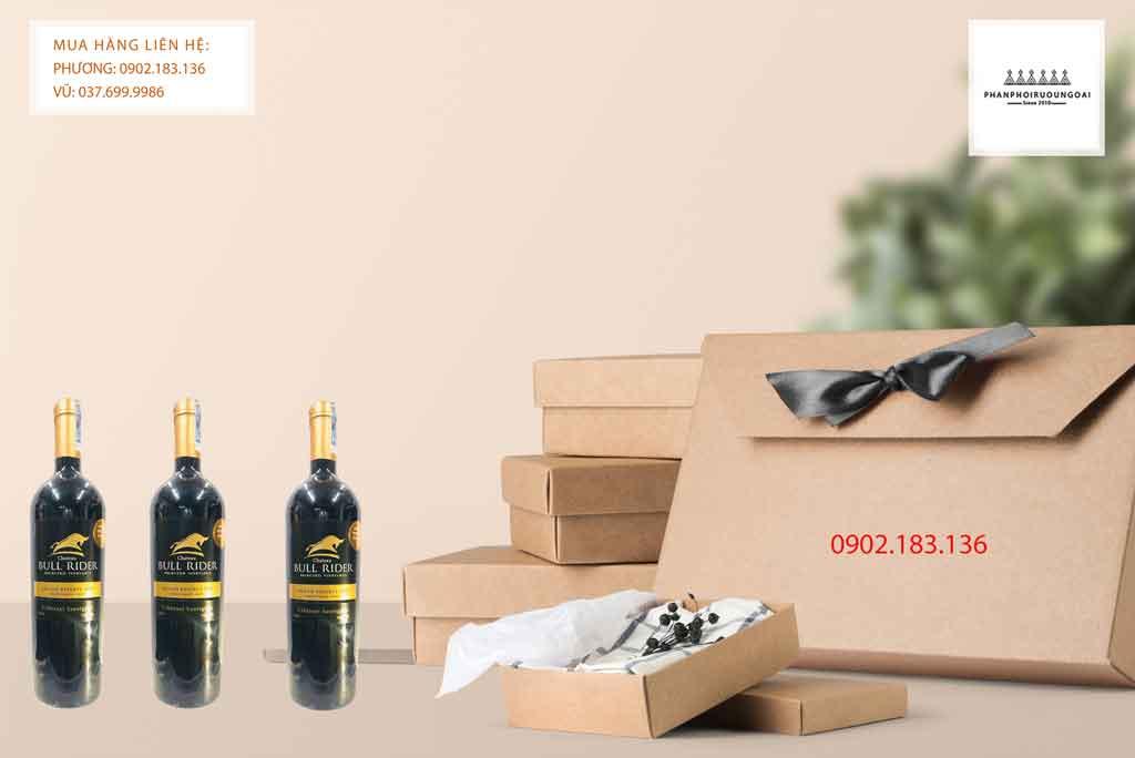 Rượu Vang Chile Bull Rider Gran Reserva Cabernet Sauvignon thích hợp cho biếu tặng 2020