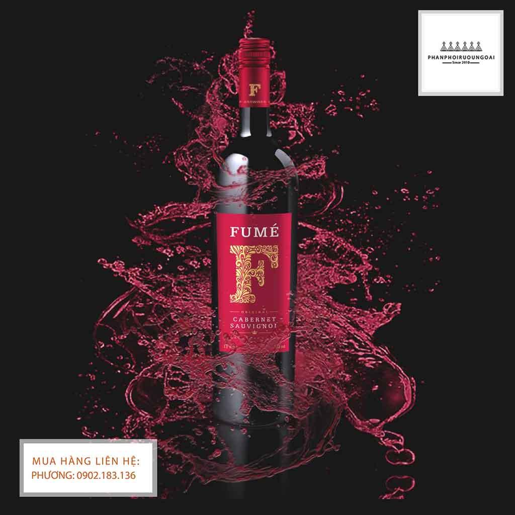Rượu Vang Tây Ban Nha Fume kiểu dáng lịch sự và hiện đại 2020