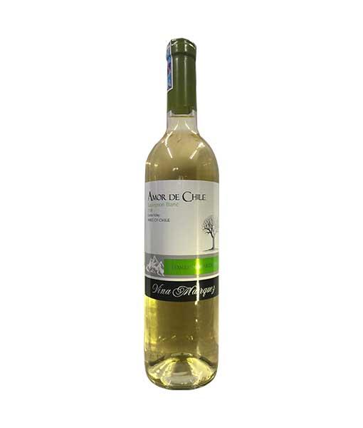 Rượu Vang Trắng Amor De Chile Sauvingon Blanc