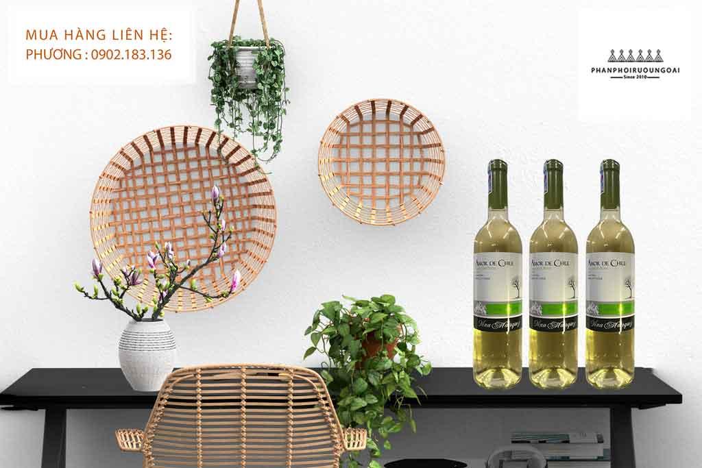 Rượu Vang Amor de Chile Sauvignon Blanc trắng 2020