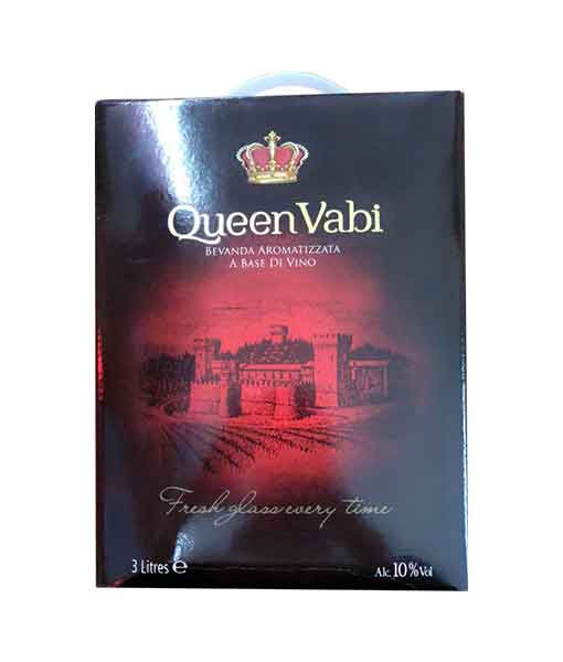 Rượu Vang Bịch Ý Queen Vabi Medium Sweet 3L (3 Lít)