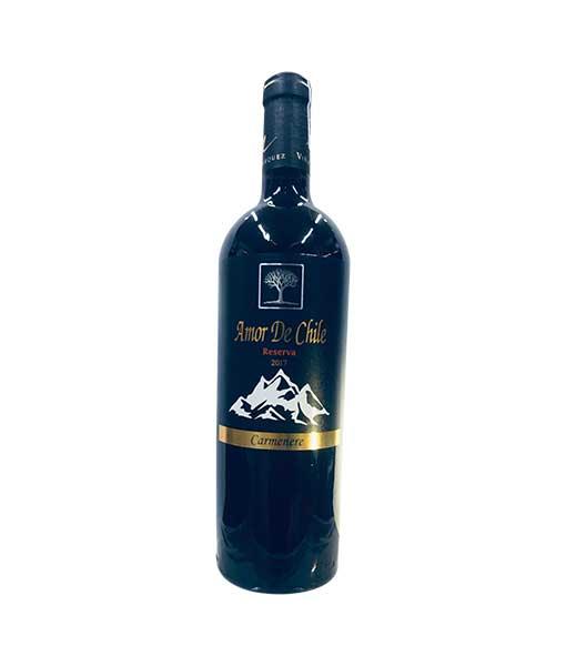Rượu Vang Chile Amor de Chile Reserva Carmenere