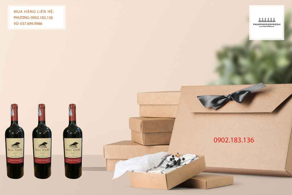 Rượu Vang Chile Bull Rider Select Cabernet Sauvignon cũng phù hợp cho biếu tặng