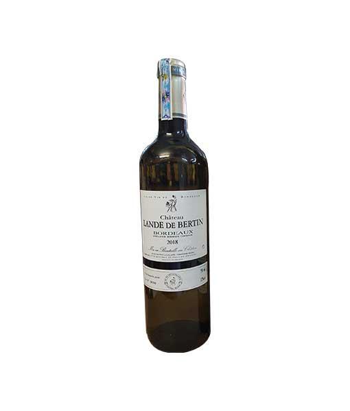 Rượu Vang Pháp Chateau Lande de Bertin trắng
