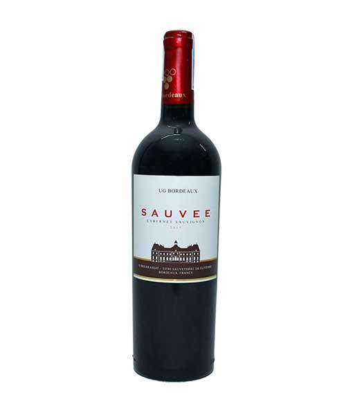 Rượu Vang Pháp UG Bordeaux Sauvee Cabernet Sauvignon