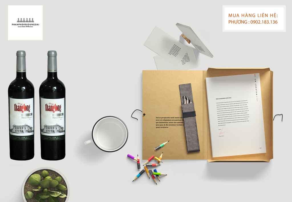 Rượu Vang Thăng Long Special món quà biếu tặng để làm giỏ quà tết 2020